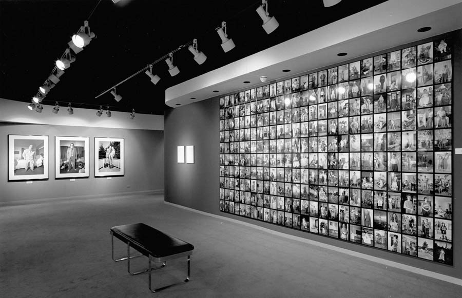 [ Fig. 05 ] <i>The Mirror, The Hammer, and The Stage</i> (exhibition view), Museum of Contemporary Photography, 1990. Photo: Donigan Cumming.