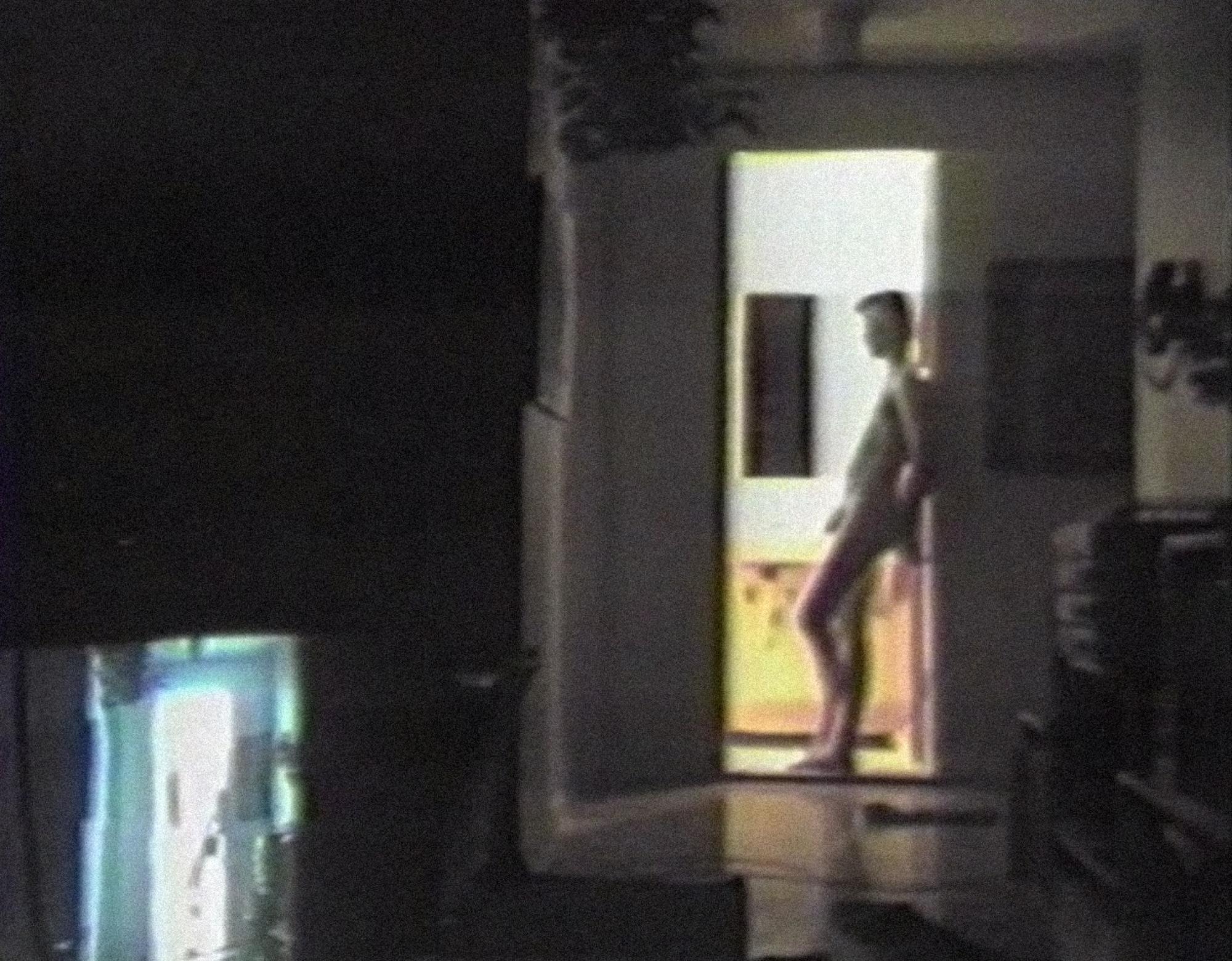 [ Fig. 05 ] <i>Deliver us from Evil</i> (video still), 1987.