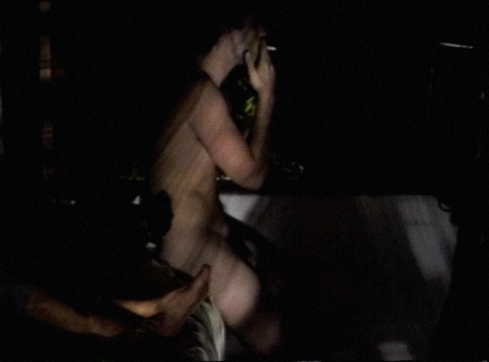 [ Fig. 04 ] <i>Harems</i> (video still), 1991.