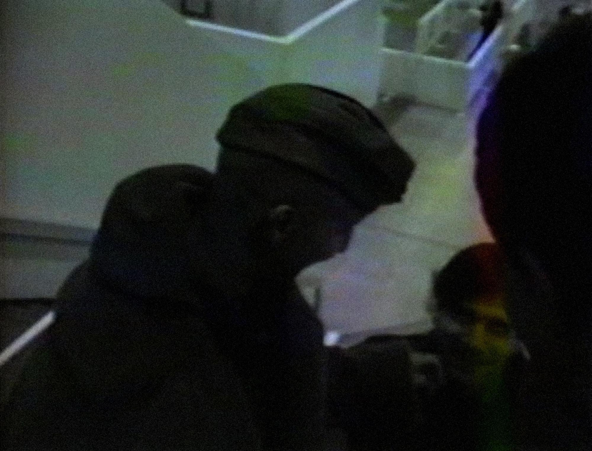 [ Fig. 19 ] <i>L'incident « Jones »</i> (video still), 1986.