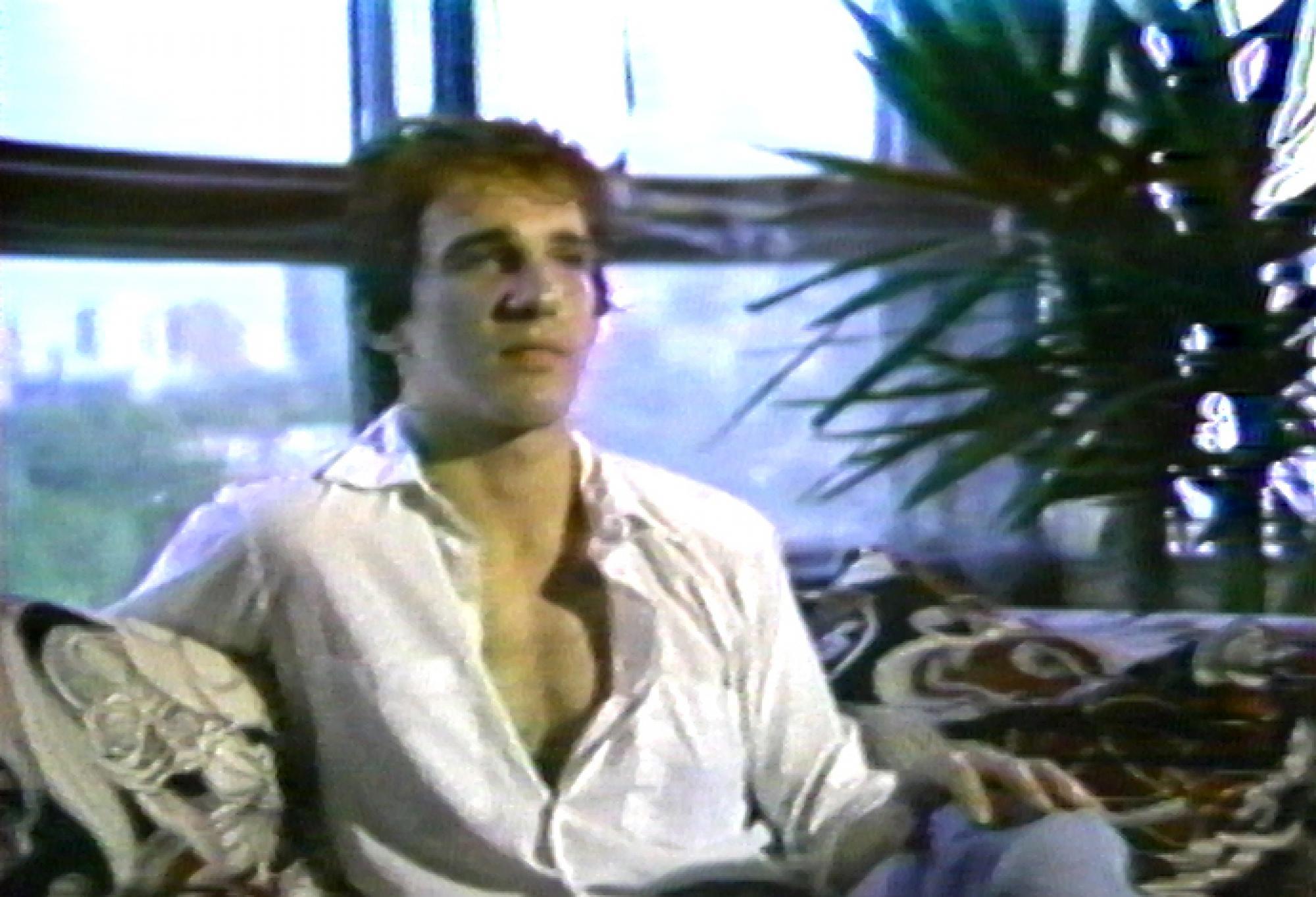 [ Fig. 27 ] <i>Le voyage de l'ogre / The Path of the Ogre</i> (video still), 1981.