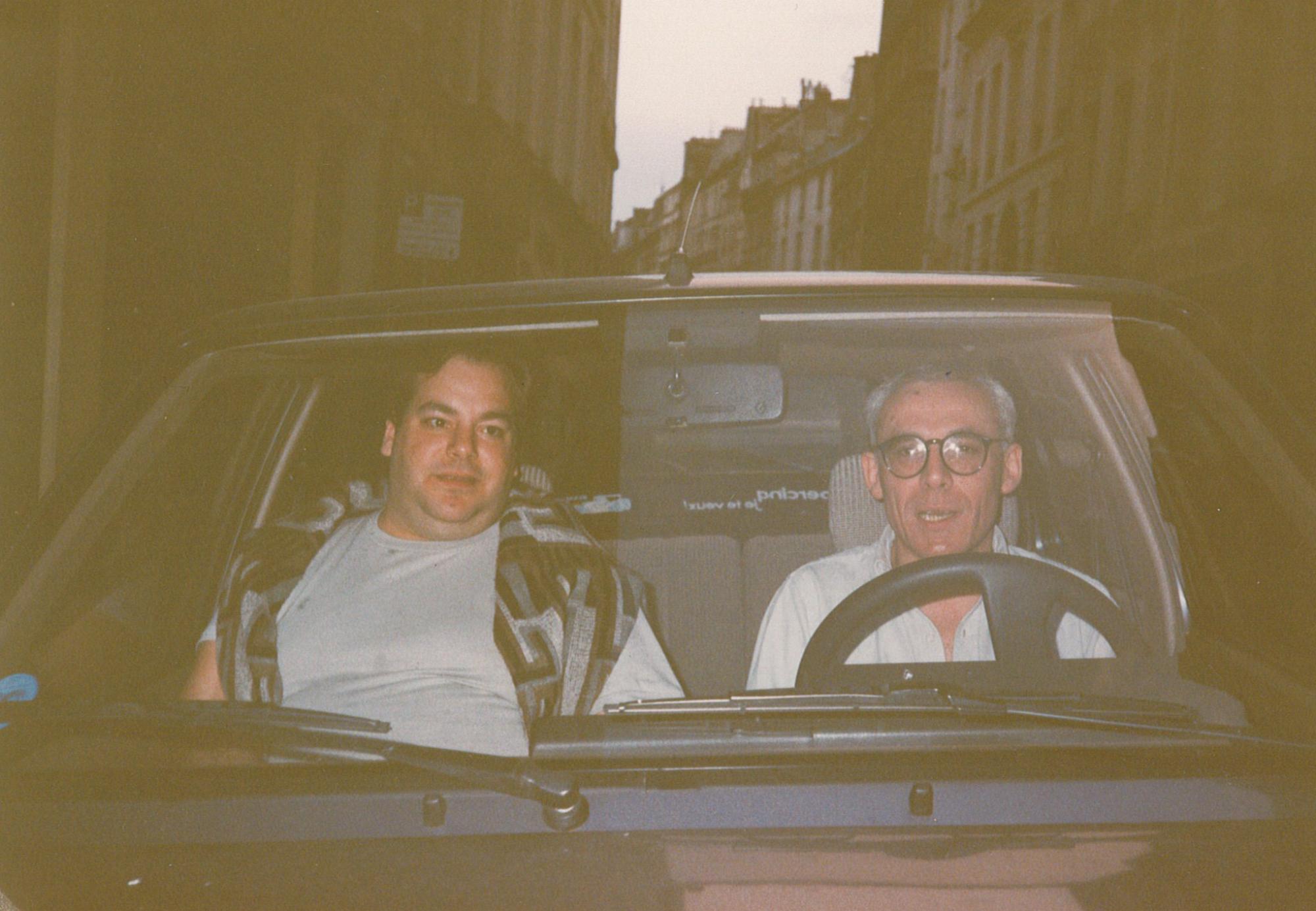 [ Fig. 09 ] Marc Paradis and Jean-François Garsi, 1986