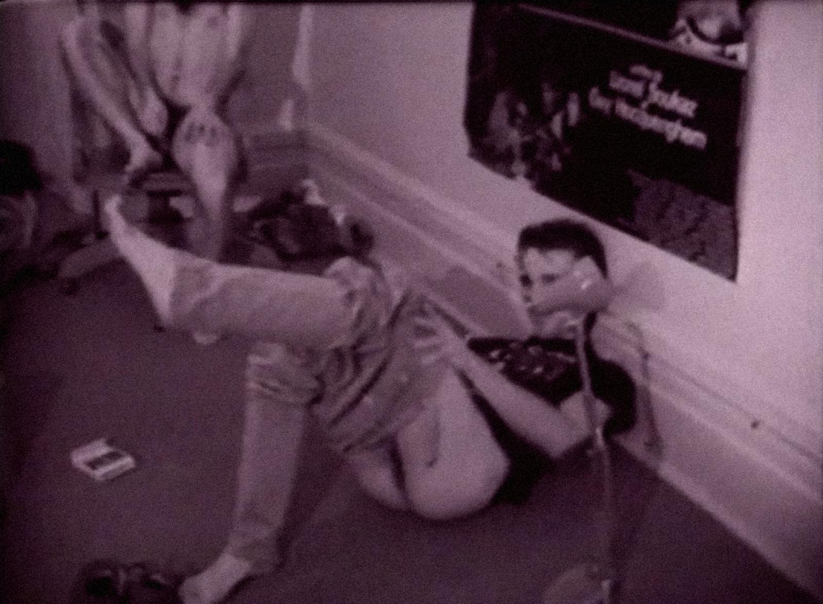 [ Fig. 06 ] <i>La cage</i> (video still), 1983.