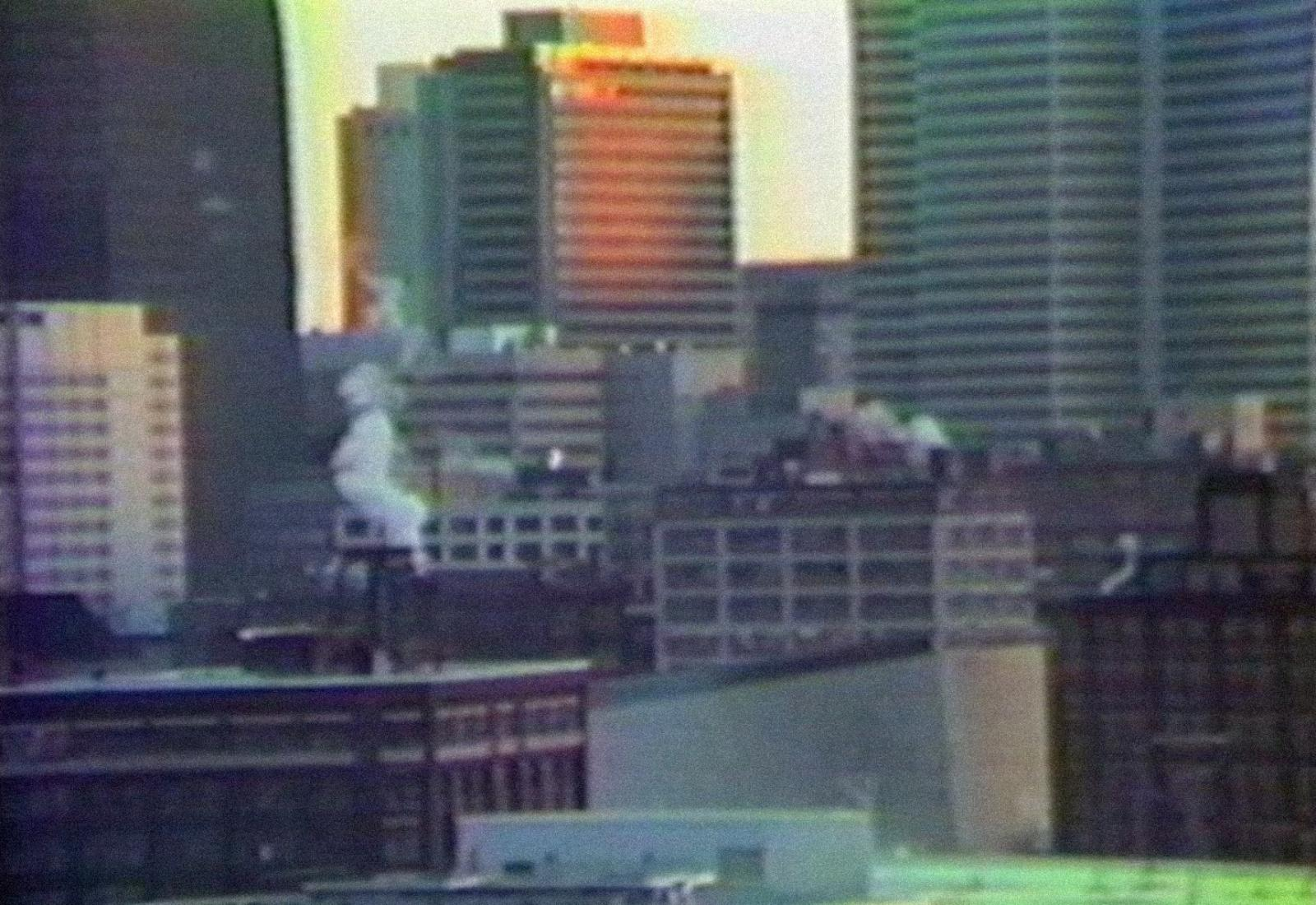 [ Fig. 12 ] <i>Harems</i> (video still), 1991.