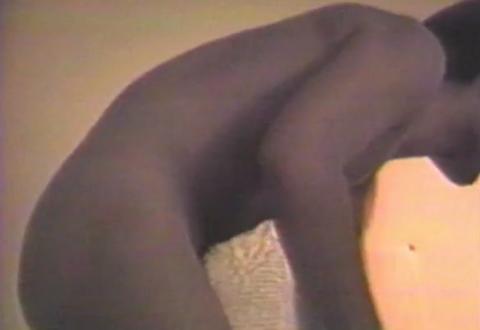 [ Fig. 01 ] <i>Délivre-nous du mal</i> (video still), 1987.